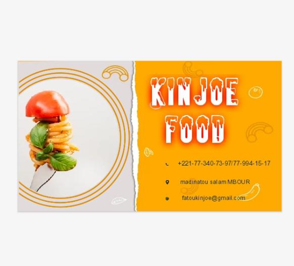 KINJOE food